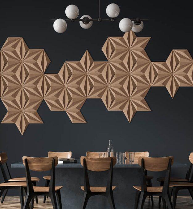 panele trójwymiarowe ozdobne na ścianę