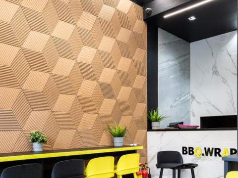 panele akustyczne ozdobne na ścianę